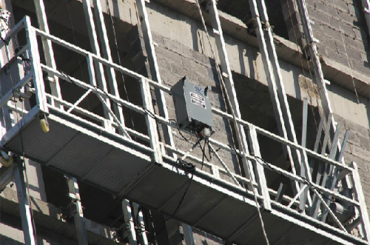 ce disetujui seri zlp ditangguhkan tali kawat platform zlp500, zlp630, zlp800, zlp1000
