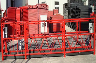 50/60 hz tiga / fase tunggal tali ditangguhkan panjang platform 7,5 meter
