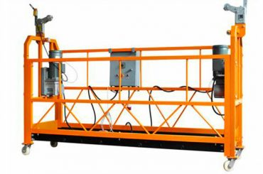 ce sertifikat aluminium ditangguhkan platform kerja zlp1000 daya motor 2.2kw