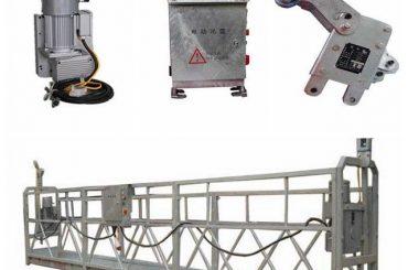 disesuaikan jendela membersihkan keselamatan bergerak platform, zlp500 1.5kw 6.3kn ayunan panggung