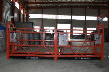 paduan aluminium / baja / hot galvanis akses ditangguhkan peralatan zlp630