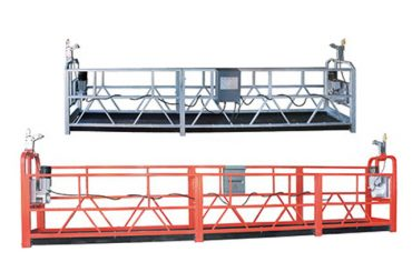 peralatan akses yang aman untuk ditangguhkan zlp630 dengan kawat baja 8,3 mm untuk pembersihan