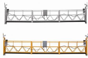 Penjualan panas Alumimum paduan ditangguhkan platform / gondola ditangguhkan / ditangguhkan cradle / ayunan ditangguhkan panggung dengan bentuk E