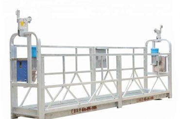 10m 800kg Suspended Scaffolding Systems Aluminium Alloy Dengan Ketinggian 300 m
