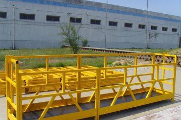 ZLP 800 High Rise Building Membersihkan Platform 300M 2.5M * 3 1.8KW 800KG