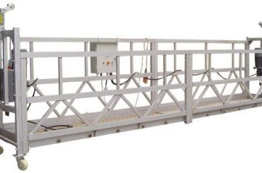 630 kg Peralatan Akses Listrik Ditangguhkan ZLP630 Dengan Hoist LTD6.3