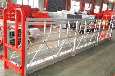 2 Bagian 500kg Ditangguhkan Platform Kerja Dengan 3 Jenis Kontra Berat