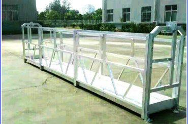 Steel / Aluminium Suspended Work Platforms Dengan Kunci Keselamatan Seri SAL