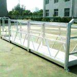 model konstruksi listrik platform kerja cradle hoist yang berbeda