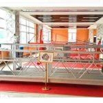 zlp630 platform aluminium ditangguhkan (ce iso gost) / jendela tinggi membersihkan peralatan / sementara gondola / cradle / swing stage hot