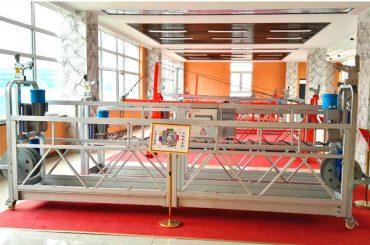 ZLP630 platform aluminium ditangguhkan (CE ISO GOST) / jendela peralatan pembersih tinggi / sementara gondola / cradle / swing stage hot