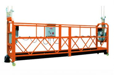 2.5M x 3 Bagian 1000kg Platform Akses Ditangguhkan Lifting Speed 8-10 m / menit
