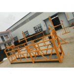 zlp series steel atau alumium suspension rope platform