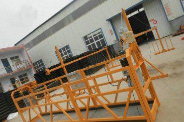 handal zlp630 lukisan baja ditangguhkan platform kerja untuk konstruksi bangunan