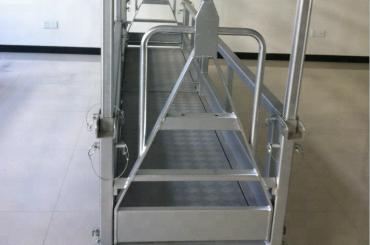 platform kerja baja yang ditangguhkan / platform baja yang ditangguhkan