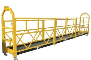 Baja Hot Galvanized Aluminium Alloy Rope Suspended Platform 1.5KW 380V 50HZ