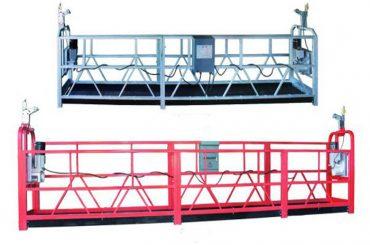 zlp 630 tali ditangguhkan platform aerial kerja ayun tahap perancah dengan semprotan plastik dicat