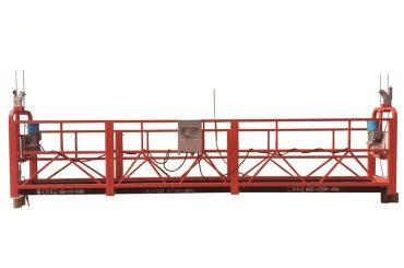 baja / platform sementara tertutup yang digalvanisasi, zlp500 pemeliharaan cradle