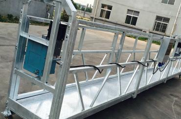 membersihkan jendela zlp630 tali ditangguhkan platform gondola cradle dengan hoist ltd6.3