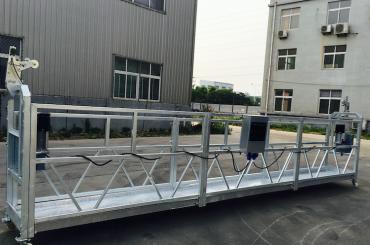 tali aluminium paduan disesuaikan ditangguhkan platform zlp 800 untuk perbaikan / lukisan