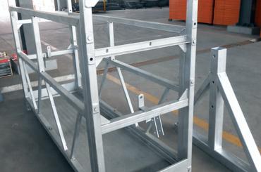 tali pengaman tinggi platform platform pengangkat suspensi yang ditangguhkan zlp630 zlp800 zlp1000