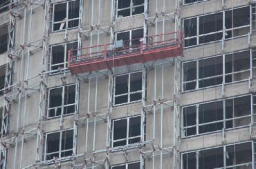 zlp seri ditangguhkan platform kerja mudah lipat paduan aluminium listrik