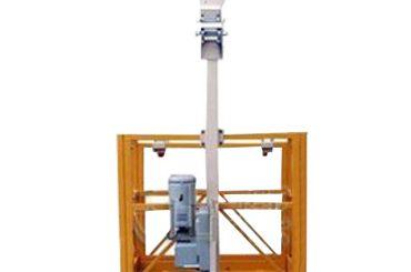 250kg pria tunggal ditangguhkan platform kerja l strirrup dengan hoist ltd6.3