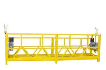 baja / aluminium ditangguhkan platform cradle, 630kg akses ditangguhkan peralatan