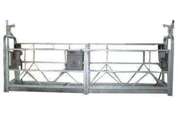 paduan aluminium tinggi zlp800 ditangguhkan platform kerja untuk membersihkan jendela