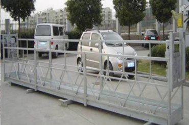 zlp630 tali platform ditangguhkan / ayunan listrik tahap / perancah untuk mesin pembersih jendela