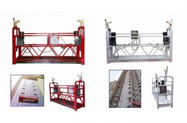 tali gantung ditangguhkan platform akses, zlp630 konstruksi mesin gondola angkat