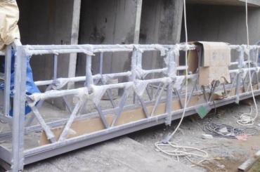 tali pengaman tinggi ditangguhkan platform mengangkat tinggi 300m untuk lukisan