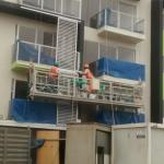 konstruksi tali pemeliharaan ditangguhkan platform dengan hoist ltd8.0 zlp800